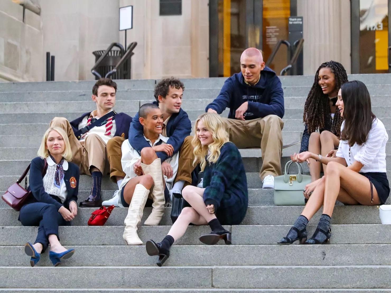 Nuevo elenco de Reboot Gossip Girl
